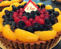Tarte aux 3 fruits